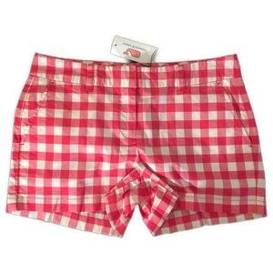 Vineyard Vines Pink Gingham Shorts NWT